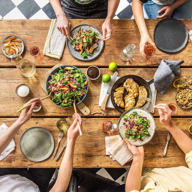 Gemeinsam kochen, gemeinsam essen. So geht Genuss!